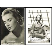 Grace Kelly: Vintage Postcard and Photo Lot
