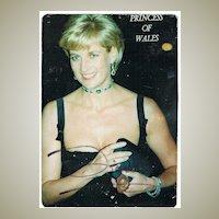 Lady Di Autograph. Diana, Princess of Wales. CoA