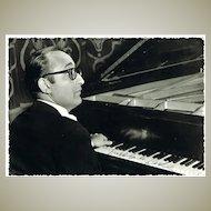 Friedrich Gulda Autograph: Early Signature, 1960s