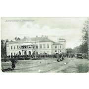 Imperial Russia: Tzar Family Residence. Vintage Postcard 1917.