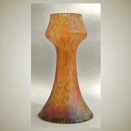 Art Nouveau Vase with Iriscent Finish