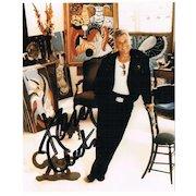 Tony Curtis Autograph: Signed Photo. CoA
