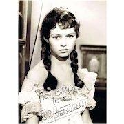 Brigitte Bardot Autograph on 8 x 11 Photo. CoA