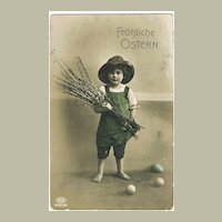 2 Easter Postcards from early 1900