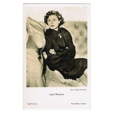 Ingrid Bergmann: Vintage Photo  Ufa, Germany