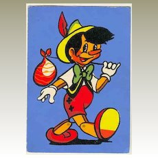 Pinnochio: 1962-Walt Disney Productions Postcard.