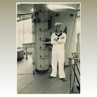 Antique Photo of a Marine on Ship to China