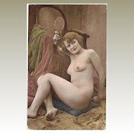 Tinted Risque Photo, c. 1910