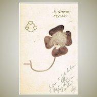 Raphael Kirchner Postcard from 1900