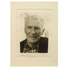 Marc Chagall Autograph: Signed Photo Print. CoA
