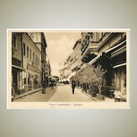 Vintage Postcard from Sarajevo Begin World War 1
