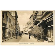 Vintage Postcard from Sarajevo Begin World War 1