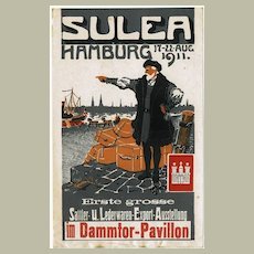 1911: Suela. Poster Style Ad for Exhibition