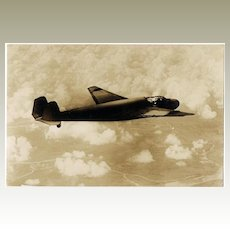 Japanese Military Plane WWI Postcard with Commemorative Cancellation
