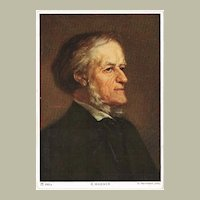 Richard Wagner Portrait Postcard