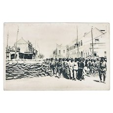 Revolution from 1908: Chinese Vintage Photo Postcard