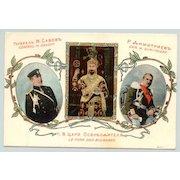 Genral M. Savoff the Tsar and General Dimitreff.