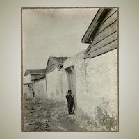 Old Turkey. A Boy at a Door. Photo from c. 1915