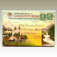 1930: Canadian Pacific Rockie: Folder with 20 views