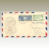 1937: First Flight USA – Hong Kong (Guam to Hong Kong)