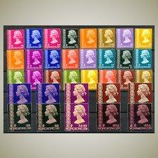 1973 - 78: MNH Elizabeth II issues 15 Cent – 2 Dollars