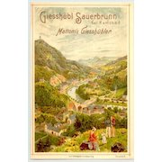 Old Austria: Attractive Chromo Litho as Advertising