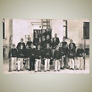 Old vintage Photo of Austrian Fire Brigade
