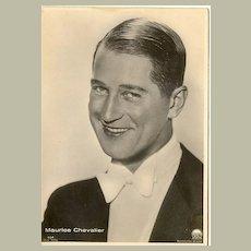 b/w Photo of Maurice Chevallier