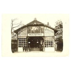 Photo of a Shooting Gallery c. 1910