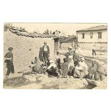 Vintage Photo of European Gypsies c.1930