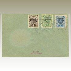 1921: Abstimmung in Salzburg: Complete Set on Cover