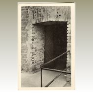 Concentration Camp Theresienstadt: The Entrance to the Cell of Toture