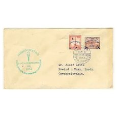 1954: Philippines, Manila Conference cover. FDC