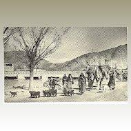 Afghanistan: Vintage Postcard. Nomdas in Kabul
