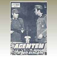 7 old Movie programs related to WWII from 1954 – 1969