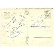 1964: Olympic Games in Innsbruck: 10+ Autographs of Participants