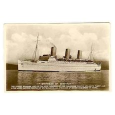 Three  Postcards related to Ships 1930 - 50s