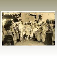 3 vintage photos related to German Movie Stars. Africa trip in the 1920s