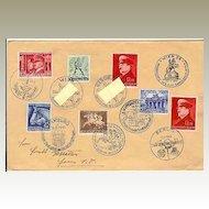 W.W.II: Quality Lot German Covers used in Austria