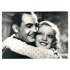 Jan Kiepura and Martha Eggerth 2 Movie Stills 7 x 5