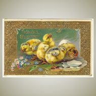 Three Easter Greeting Postcards: 1904 – 1911. Europe