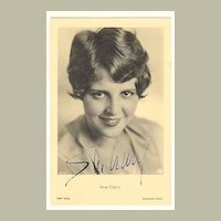 Sue Carol: Early Autograph on Photo. CoA