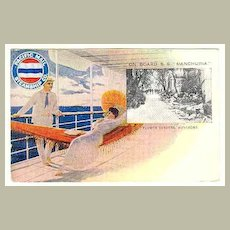 Pacific Mail Steamship: On Board S.S: Manchuria