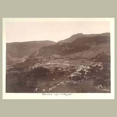1891. Azores. Furnas – St. Miguel. Old Photograph.
