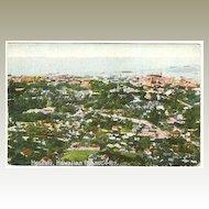 Hawaii Vintage Postcard: Honolulu