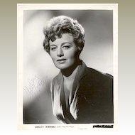 Shelley Winters Autograph 8 x 10 CoA