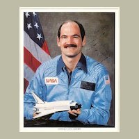 Astronaut Guy S. Gardner Autograph on 8 x 10 Photo. CoA
