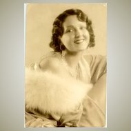 Movie star Mary Duncan. Early, original photo