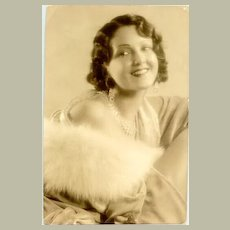 Movie star Mary Duncan. Early, original photo