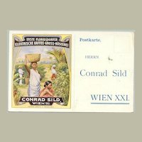 1913: Very early and important Austrian private mailing card - SILD